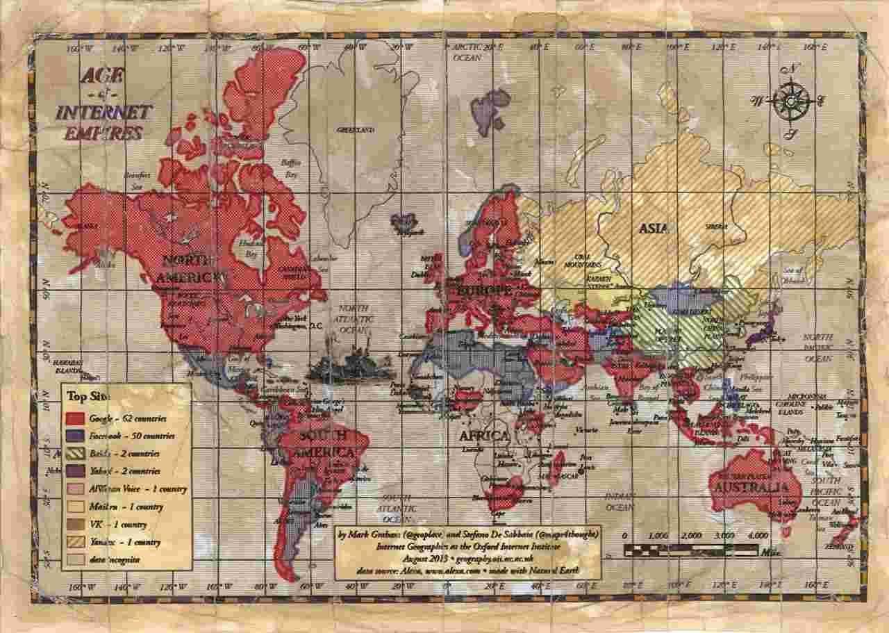 نقشه اینترنتی