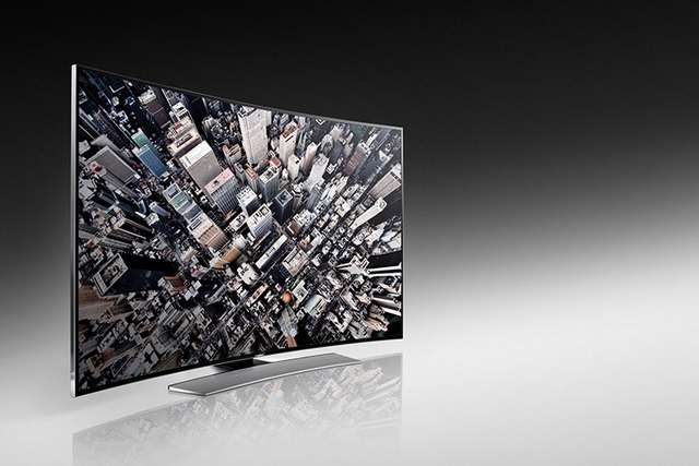 Samsung's curved 105-inch