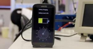 شارژ شدن باتری در 30 ثانیه