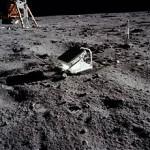 پس بازتابگر لیزر برای تعیین فاصله زمین از ماه