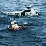 فرود آپولو 11 در اقیانوس آرام