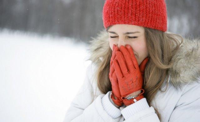 سرماخوردگی در هوای سرد