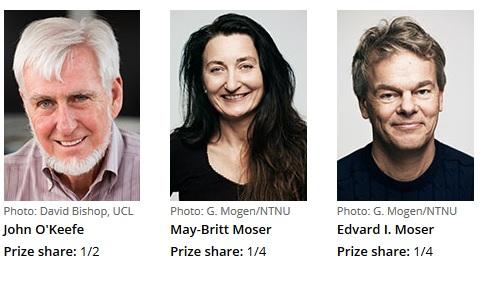 برندگان نوبل پزشکی 2014