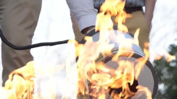 خاموش کردن آتش