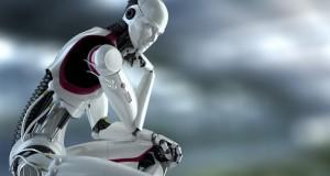 a- robot thinking